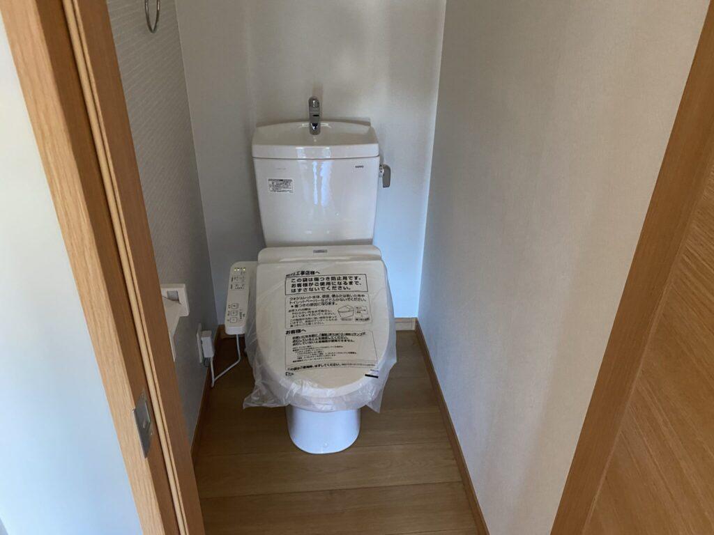 シャワートイレに交換